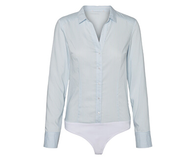 Body pentru femei VMERIKA L / S BODY G-SRING COLOR Cool Blue