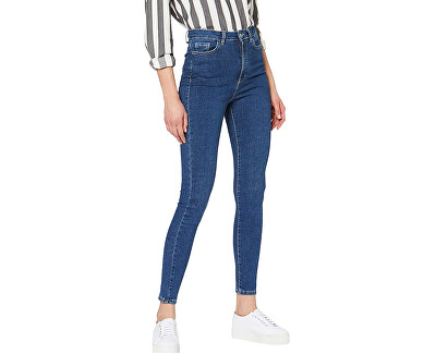 Női skinny farmer VMSANDRA 10227316 Medium Blue Denim