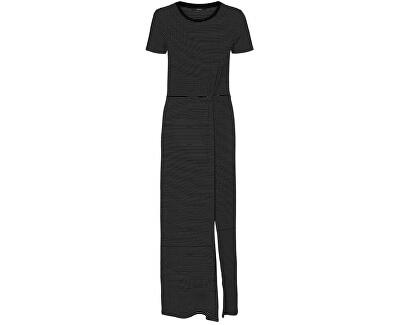 Dámské šaty VMAVA LULU 10228490 Black REBECCA SNOW WHITE