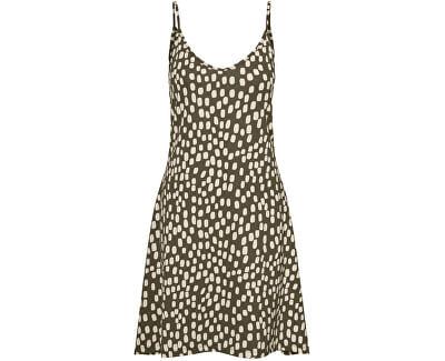 Dámské šaty VMDIDDEADRIANNE 10227625 Ivy Green BIRCH DOT