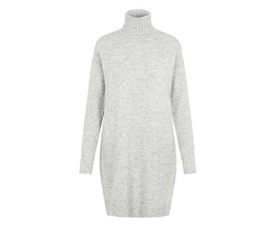 Rochie pentru femei VMLUCI LS ROLLNECK DRESS Light Grey Melange