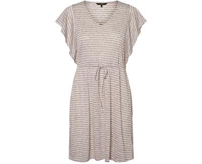 Vestito da donna VMRAKEL 10230826 Birch Stripes:BROWNIE STRIPES
