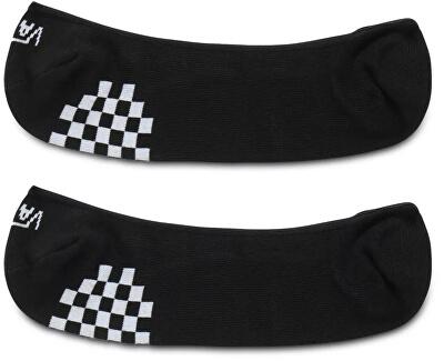 2 PACK - Socken für Frauen GIRLY NO SHOW Black/White