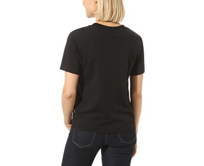 T-shirt da donna WM Junior V BoxyBlack VN0A4MFLBLK1