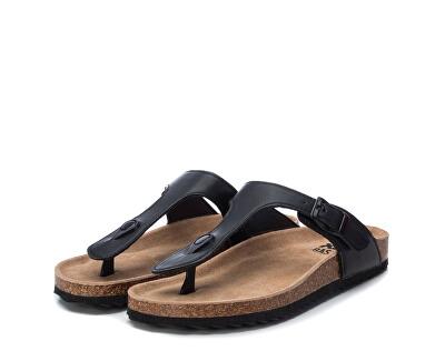 Dámské žabky Black Pu Ladies Sandals 34284 Black
