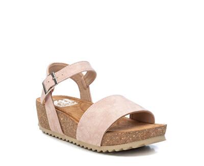Dámské sandále Nude Nobuk Pu Ladies Sandals 34256 Nude