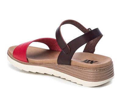 Dámské sandále Red Pu Ladies Sandals 49846 Red