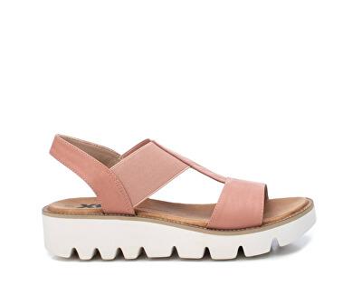 Dámské sandále Nude Pu Combined Ladies Sandals 49850 Nude