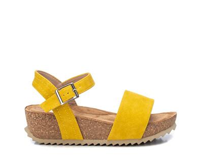 Dámské sandále Yellow Nobuk Pu Ladies Sandals 34256 Yellow