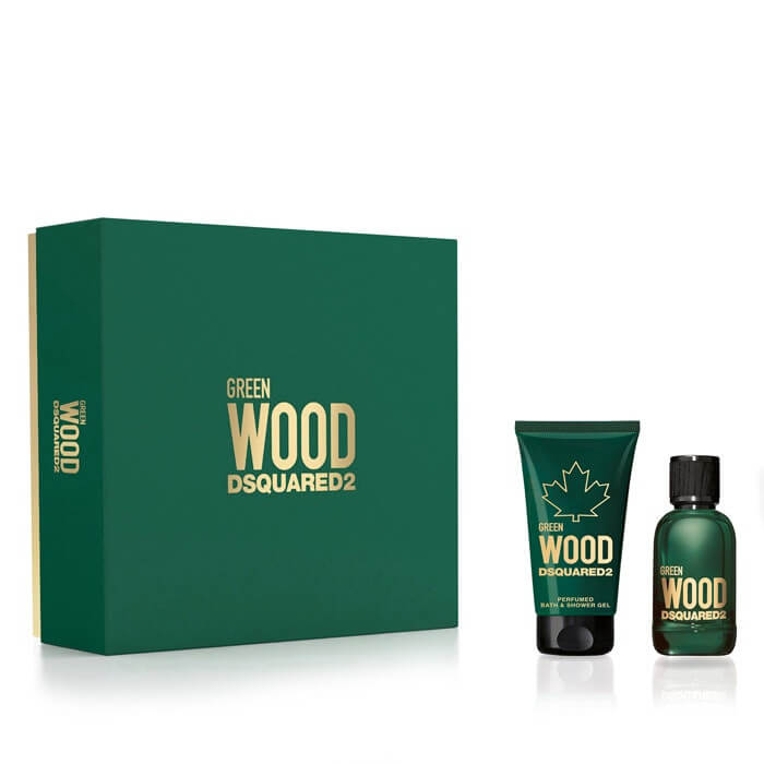 Dsquared² Green Wood - EDT 30 ml  sprchový gel 50 ml