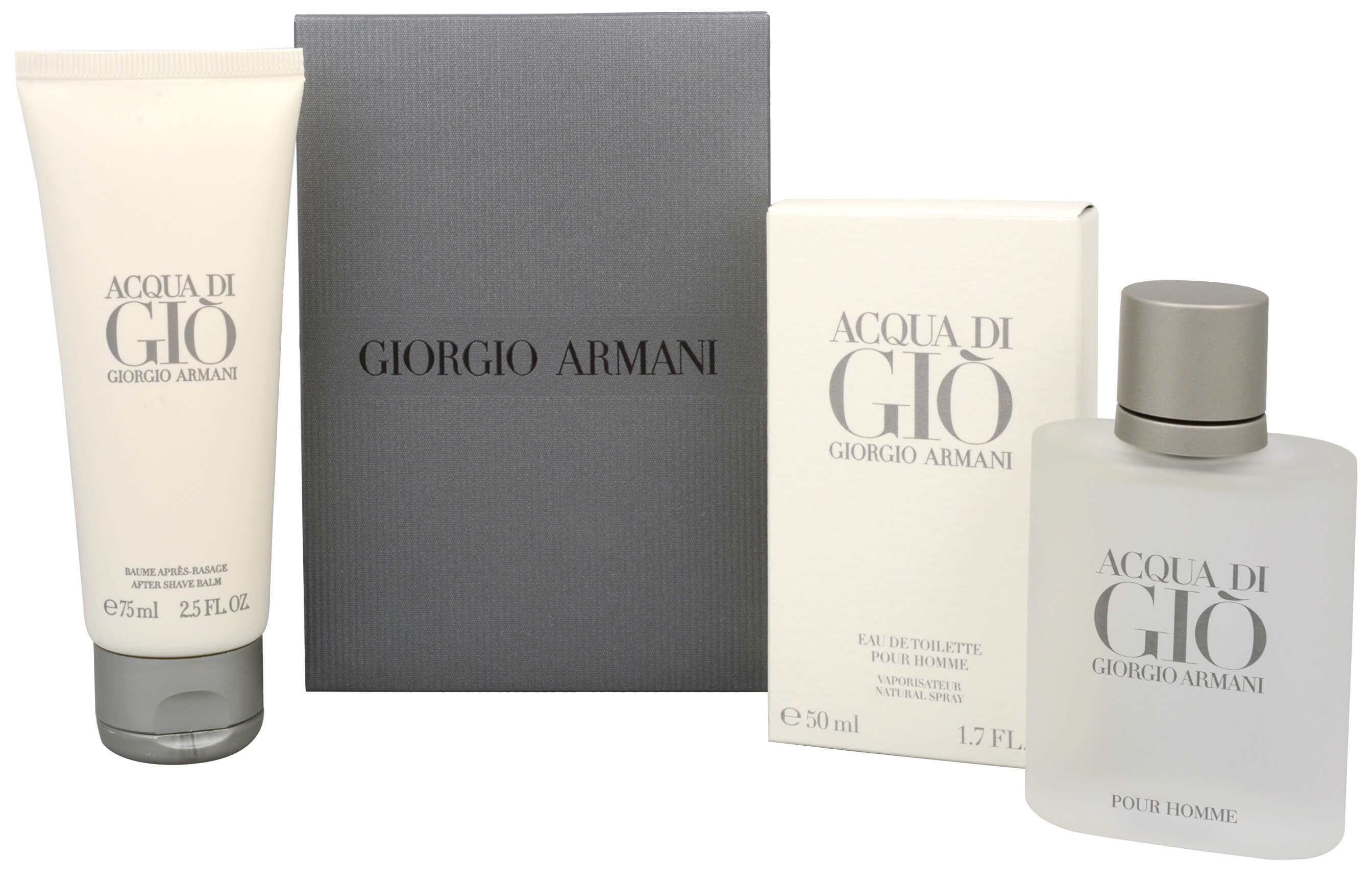 Armani Acqua Di Gio Pour Homme - EDT 50 ml + balzám po holení 75 ml + 2 měsíce na vrácení zboží