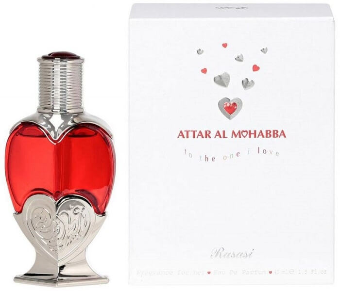 Rasasi Attar Al Mohabba Female - EDP 45 ml