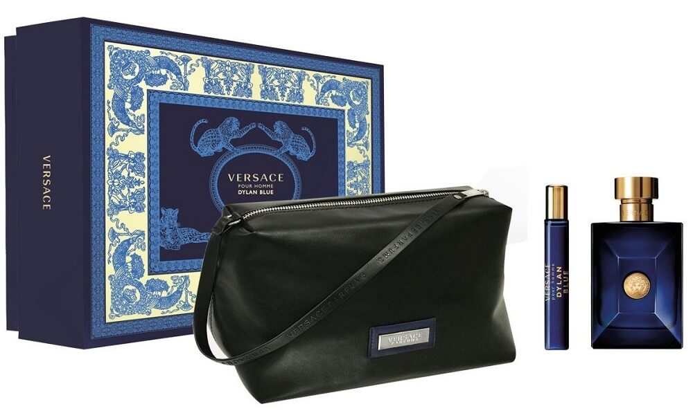 Versace Versace Pour Homme Dylan Blue - EDT 100 ml + EDT 10 ml + kosmetická taštička + 2 měsíce na vrácení zboží