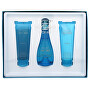 Cool Water Woman - EDT 100 ml + testápoló 75 ML + tusfürdő 75 ml