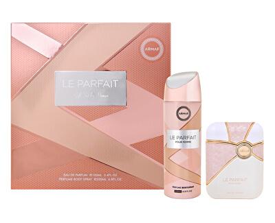Le Parfiat Pour Femme - EDP 100 ml + deodorant ve spreji 200 ml