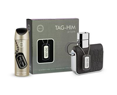 Tag-Him - EDT 100 ml + deodorant ve spreji 200 ml