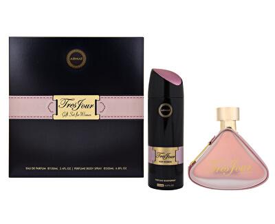 Tres Jour For Women - EDP 100 ml + deodorant ve spreji 200 ml