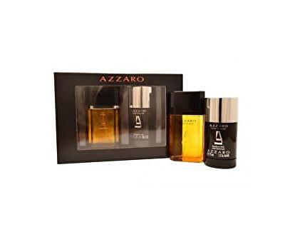 Azzaro Pour Homme - EDT 50 ml + tuhý deodorant 75 ml