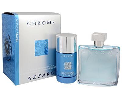 Chrome - EDT 100 ml + deodorante stick 75 ml