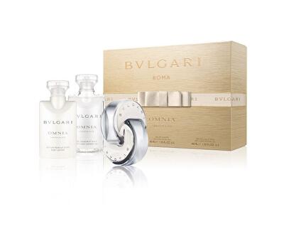Omnia Crystalline - EDT 40 ml + telové mlieko 40 ml + sprchový gél 40 ml