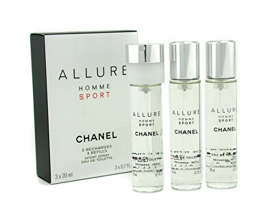 Allure Homme Sport – EDT náplň (3 x 20 ml)