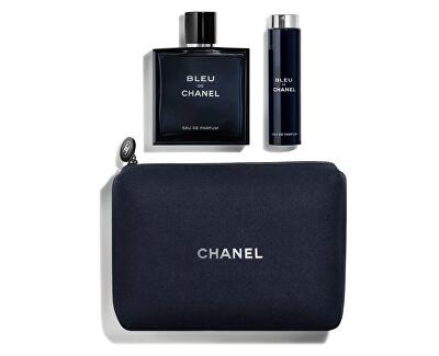 Bleu De Chanel - EDP 100 ml + EDP 20 ml + kosmetická taštička