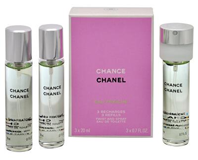 Chance Eau Fraiche - EDT reumplere (3 x 20 ml)