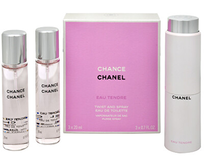 Chance Eau Tendre - EDT (3 x 20 ml)