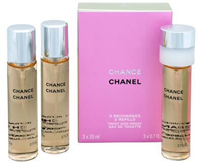 Chance - EDT ricarica (3 x 20 ml)