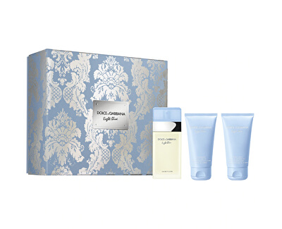 Light Blue - EDT 50 ml + tělový krém 50 ml + sprchový gel 50 ml