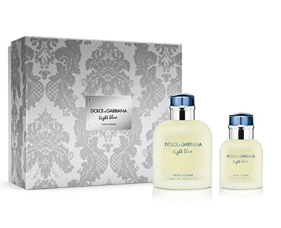 Light Blue Pour Homme - EDT 125 ml + EDT 40 ml