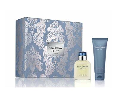 Light Blue Pour Homme - EDT 75 ml + borotválkozás utáni balzsam 75 ml