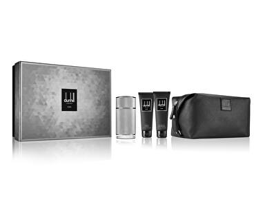Icon - EDP 100 ml + sprchový gél 90 ml + balzám po holení 90 ml + kozmetická taška