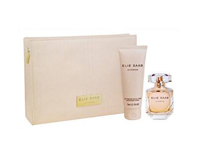 Le Parfum - EDT 50 ml + testápoló 75 ml + kozmetikai táska