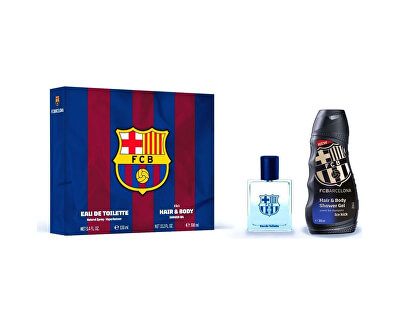 FC Barcelona - EDT 100 ml + tusfürdő 300 ml