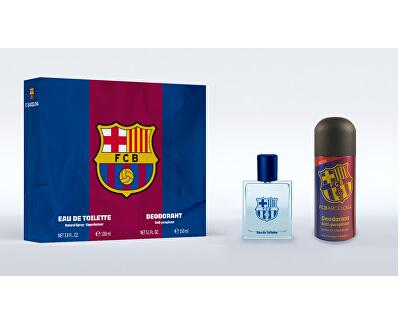 FC Barcelona - EDT 100 ml + deodorante in spray 150 ml