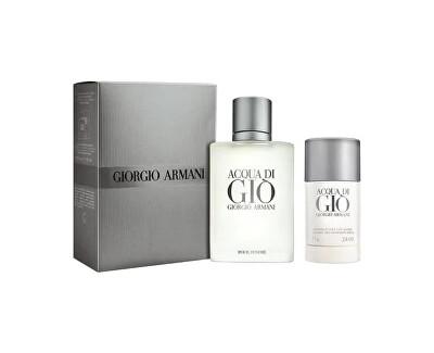 Acqua Di Gio Pour Homme - EDT 100 ml + tuhý deodorant 75 ml
