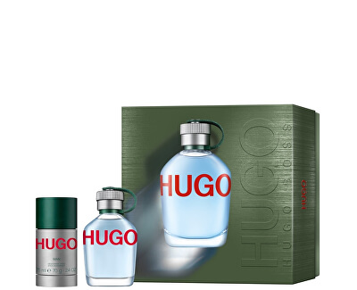 Hugo - EDT 75 ml + deodorant solid 75 ml