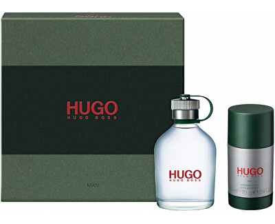 Hugo - EDT 75 ml + tuhý dezodorant 75 ml