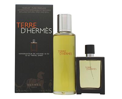 Terre D´ Hermes - EDP 30 ml (ricaricabile) + ricarica 125 ml