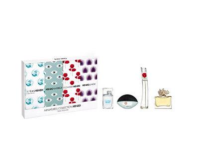 Kolekce Miniatur EDT 5 ml + EDP 2 x 5 ml + EDP 4 ml