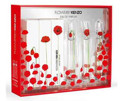 Kolekce Miniatur Flower By Kenzo EDP 3 x 4 ml