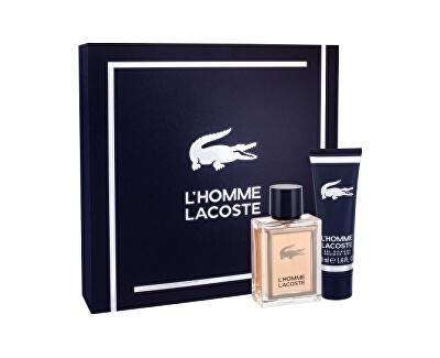 L`Homme Lacoste - EDT 50 ml + sprchový gel 50 ml