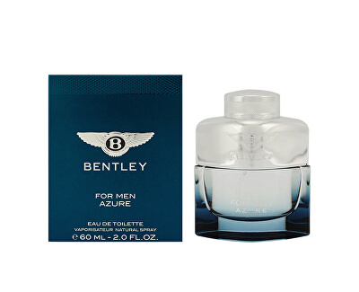 Bentley For Men Azure - EDT - SLEVA - bez celofánu, chybí cca 2 ml