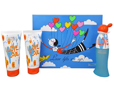 Cheap & Chic I Love Love - EDT 50 ml + tusfürdő 100 ml + testápoló 100 ml
