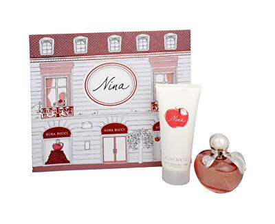 Nina - EDT 50 ml + telové mlieko 100 ml