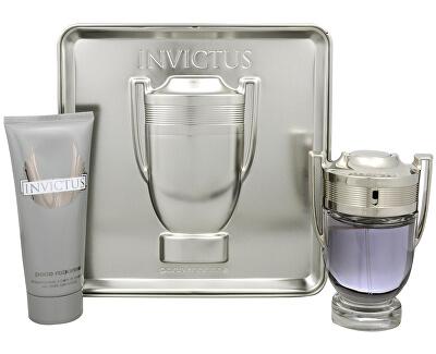 Invictus - EDT 100 ml + gel de duș 100 ml