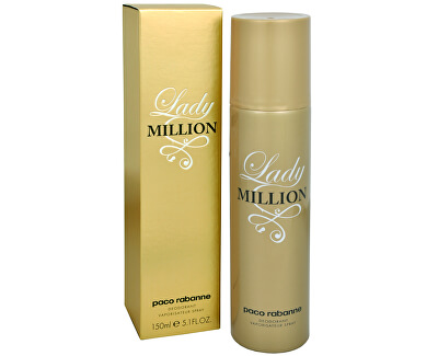 Lady Million - deodorant v spreji