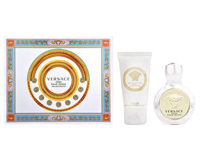 Eros Pour Femme - EDT 50 ml + tusfürdő 50 ml+ testápoló 50 ml