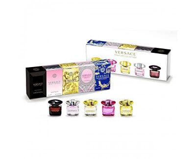 Kolekce miniatur - EDT 3 x 5 ml + EDP 2 x 5 ml